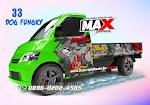 Modifikasi Cutting sticker Gran max pickup