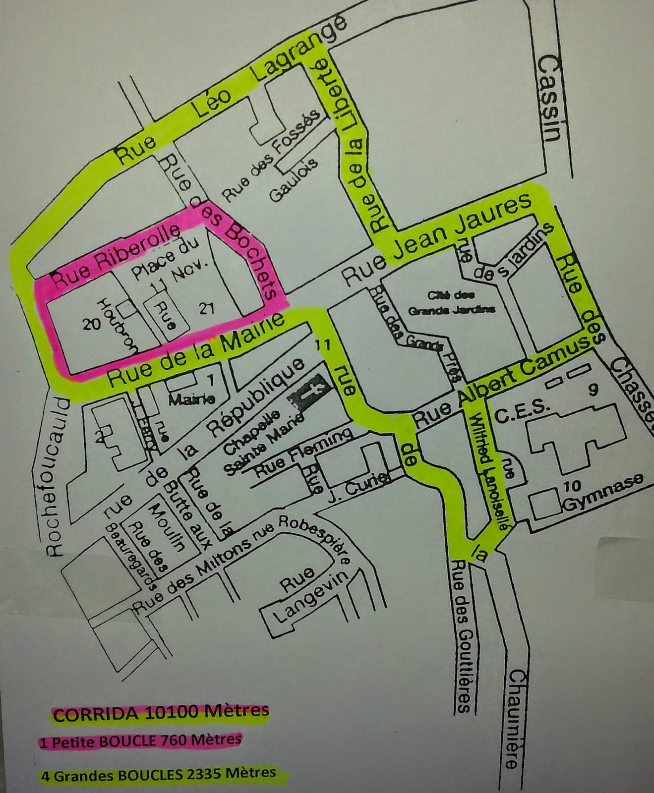Mes courses hors stade 10 1 km de la corrida de for Bureau 02 villeneuve saint germain
