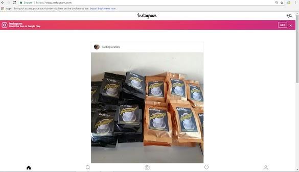 Pengetahuan Baru cara ber Instagram pakai Laptop