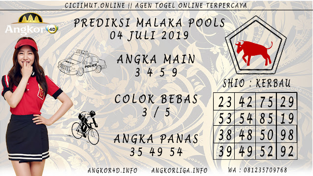 PREDIKSI MALAKA POOLS 04 JULI 2019