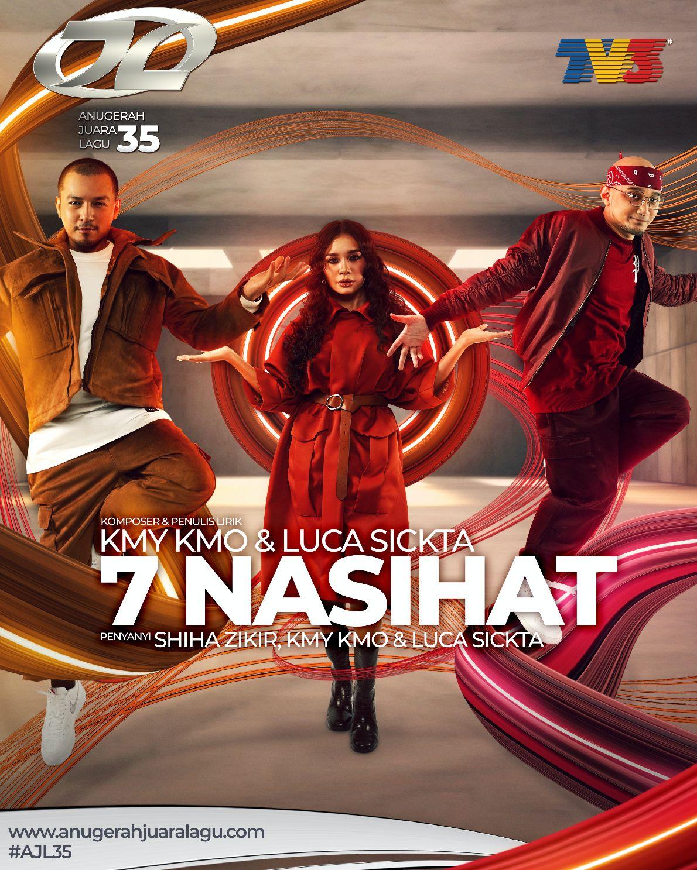 7 Nasihat - Shiha Zikir, Kmy Kmo & Luca Sickta