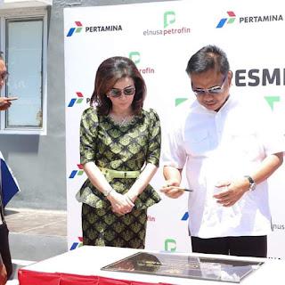 Gubernur Olly Didampingi Bupati Tetty Resmikan Pengoperasian Depot LPG Amurang PT Elnusa Petrofin