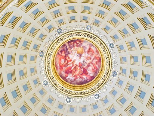 WI State Capitol Dome Interior - The Rotunda