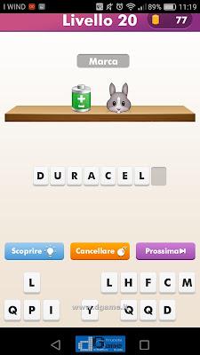 Emoji Quiz soluzione livello 20