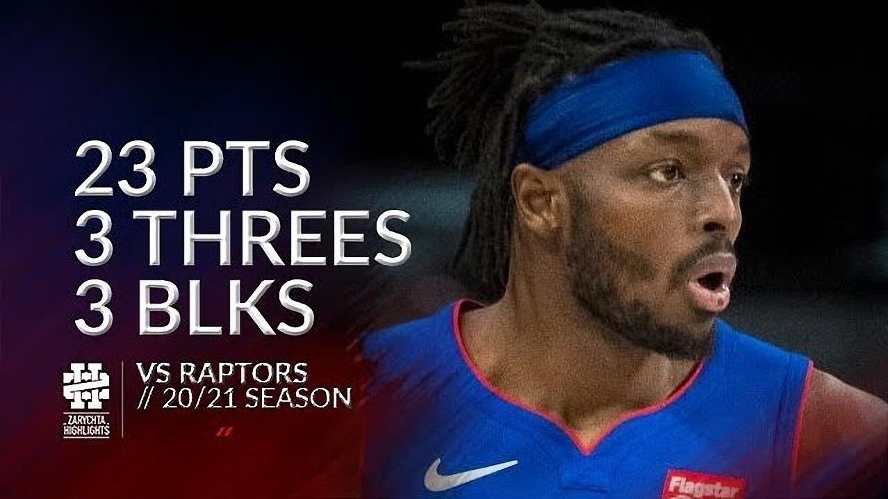 Jerami Grant 23pts 3blk vs TOR | March 17, 2021 | 2020-21 NBA Season