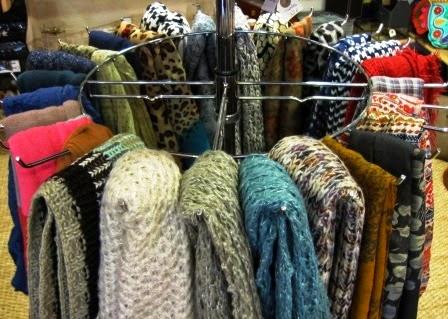 Bufandas y cuellos invierno 2014-15