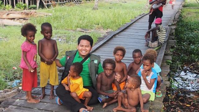 Tim NU Peduli Laporkan Kondisi Korban Wabah Campak dan Gizi Buruk di Kabupaten Asmat Bertambah