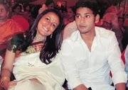 Namrata Shirodkar with her husband