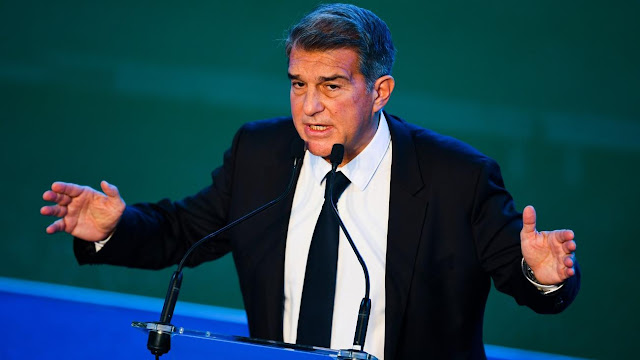 I am here to convince Leo to carry on - Joan Laporta
