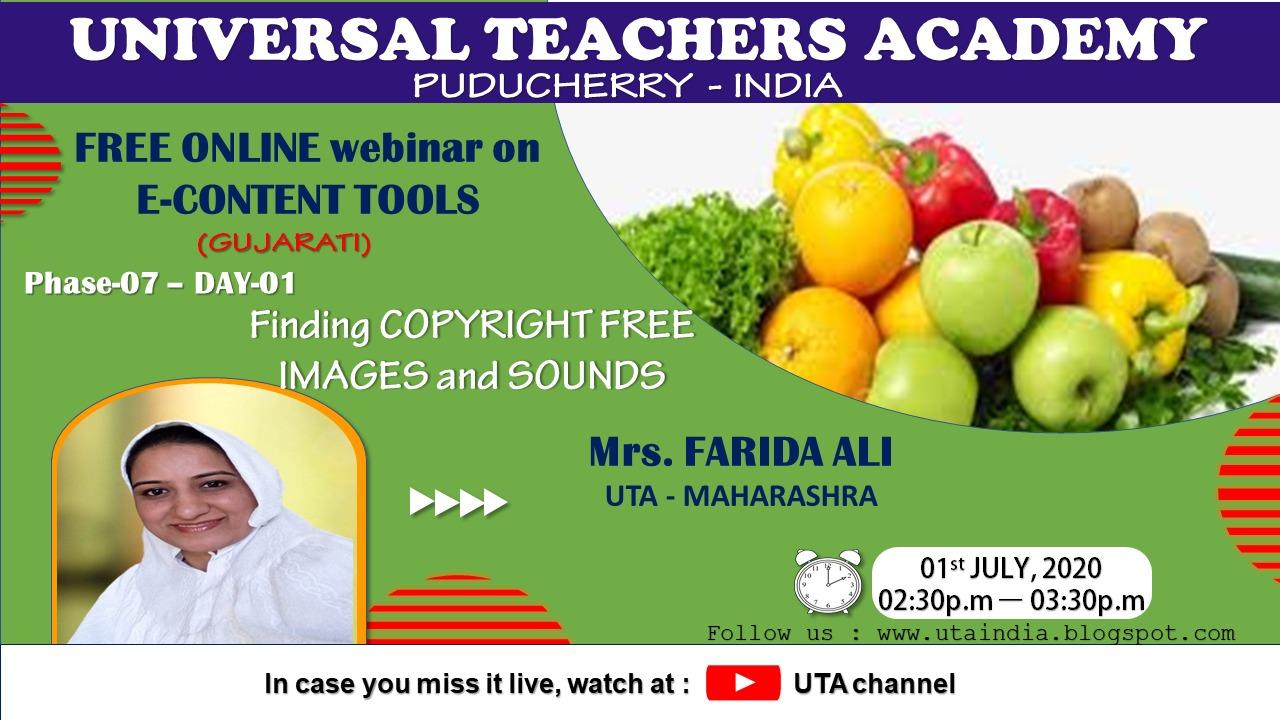 Universal Teachers Academy Uta, Phase-7, Day-1 Gujarati -4208