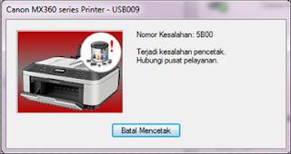 ip 2770 5B00 error code