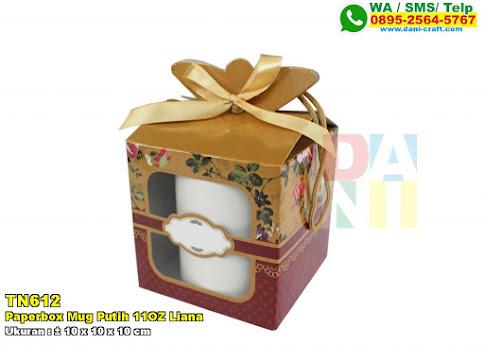 Paperbox Mug Putih 11OZ Liana