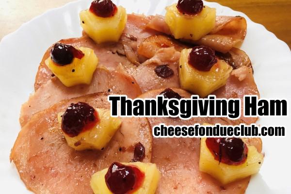 サンクスギビング(感謝祭)ハムのレシピ
