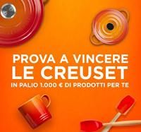 Puoi vincere Le Creuset : gratis buoni acquisto fino a 1000 euro