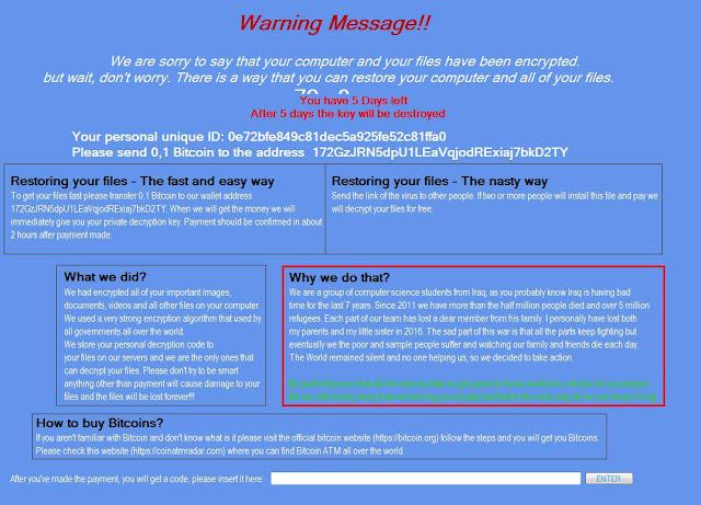Βρήκαμε λύση για να μην πληρώσετε λύτρα σε bitcoin αν κολλήσατε Ransomware - ιό κρυπτογράφησης Jhon Woddy