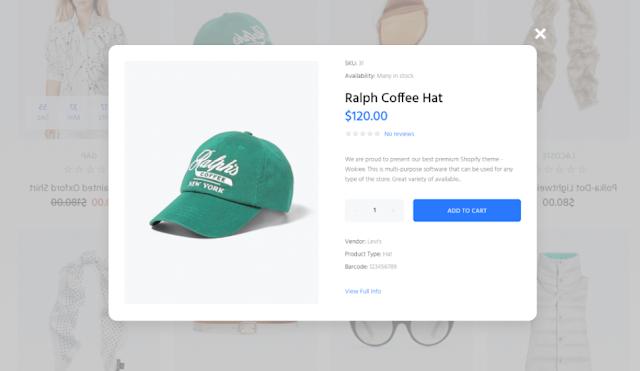 Shopify theme 2019
