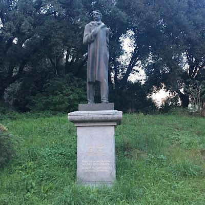 Statua Ivan Vazov Roma