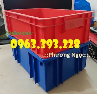 Thùng nhựa đặc B4, hộp nhựa chứa đồ, thùng nhựa đựng linh kiện 20180407_114952