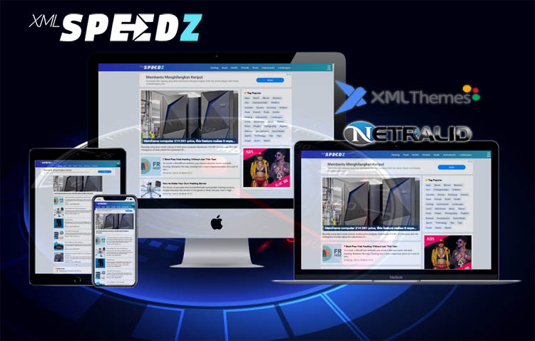 HTML SpeedZ - Template Blogger Fast Loading