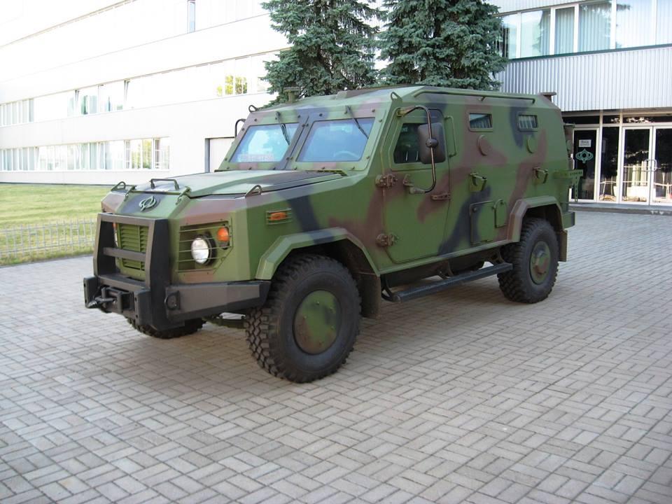 бронеавтомобіль «Барс-6» версія-2016