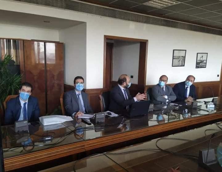 وزير الموارد المائيه يستعرض تطبيقات الرى الذكى المنفذة فى مصر وعدد من دول العالم / الأهرام نيوز