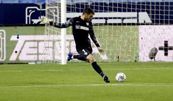 """Juan Soriano: """"El Málaga es un gran club y no me importaría volver aquí"""""""