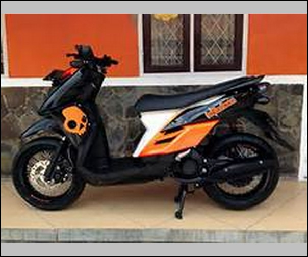 Modifikasi Motor X Ride Trail Adventure Touring Terkeren