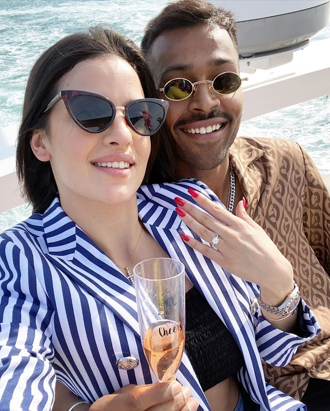 Hardik Pandya got engaged to Natasha in Dubai, Know who is Natasha