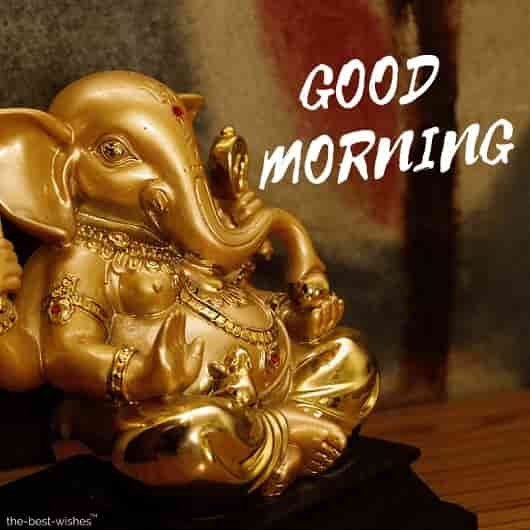 ganesha very good morning god images