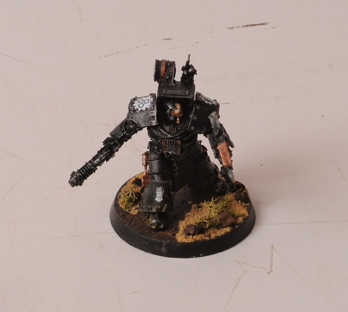 Barnfind: Iron Hands Space Marine Army - forge world meets