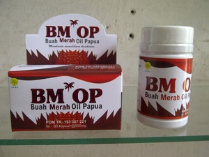 Jual Buah Merah Papua Kapsul Minyak BM - OP