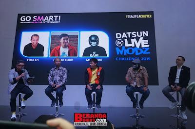 Fitra Eri, Ridwan Hanif dan Om Motomobi Adu Modifikasi Datsun Go! Siapa yang Menang ya?