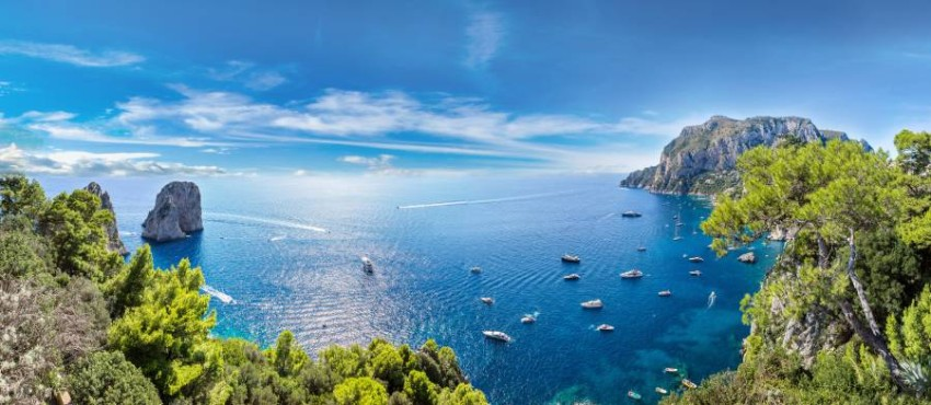 Capri Island.. turquoise beaches and celebrity destination Its charming and picturesque nature, its clear beaches, its famous caves and bays, are all components of the island of Capri, which made it one of the most popular Italian destinations, and a favorite destination for many stars and celebrities who go to tourism, rest and recreation, such as: Elizabeth Taylor, Tom Hanks, Bradley Cooper, and Julia Roberts. , Demi Moore, and Will Smith.