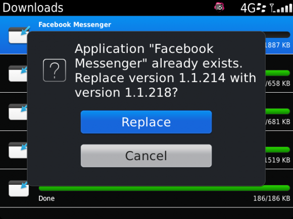 Download facebook messenger for blackberry 8520.