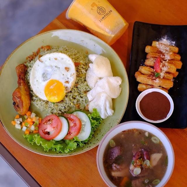 Menu di Jempolan Coffee & Eatery Jogja