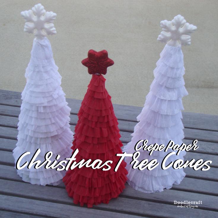 Diy Christmas Decorations Using Crepe Paper