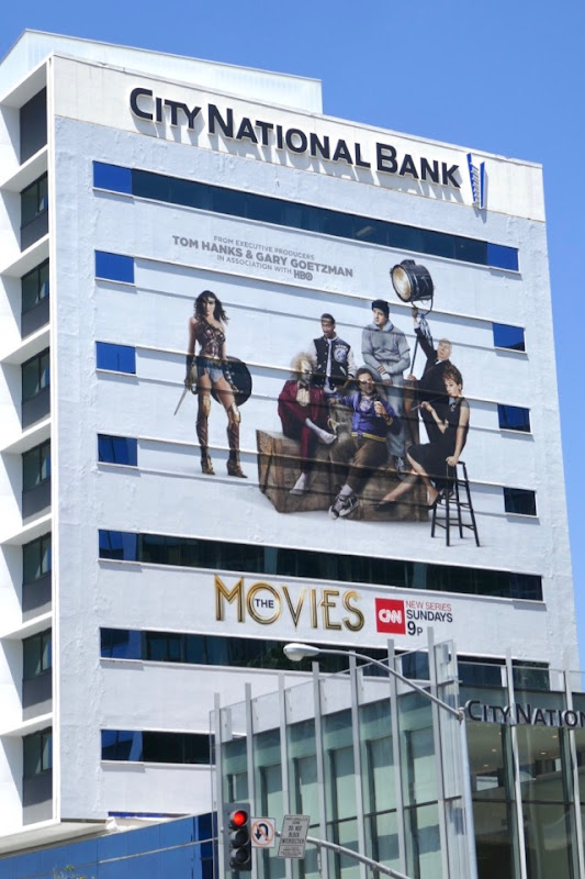 Giant Movies CNN series billboard