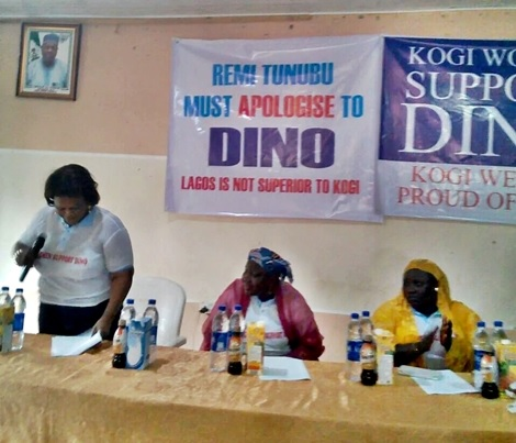 Remi Tinubu Must Apologize to Dino Melaye - Kogi Women Hold Massive Press Conference (Photos)