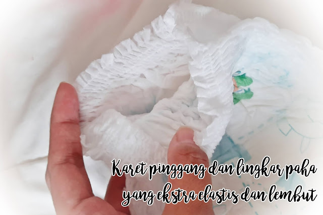 Popok Bayi Sweety Silver Pants