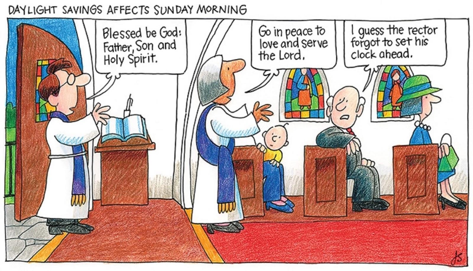 "Episcopal Church Memes: ""The Rector Forgot"" (Cartoon by ..."