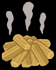 薪と火のイラスト2