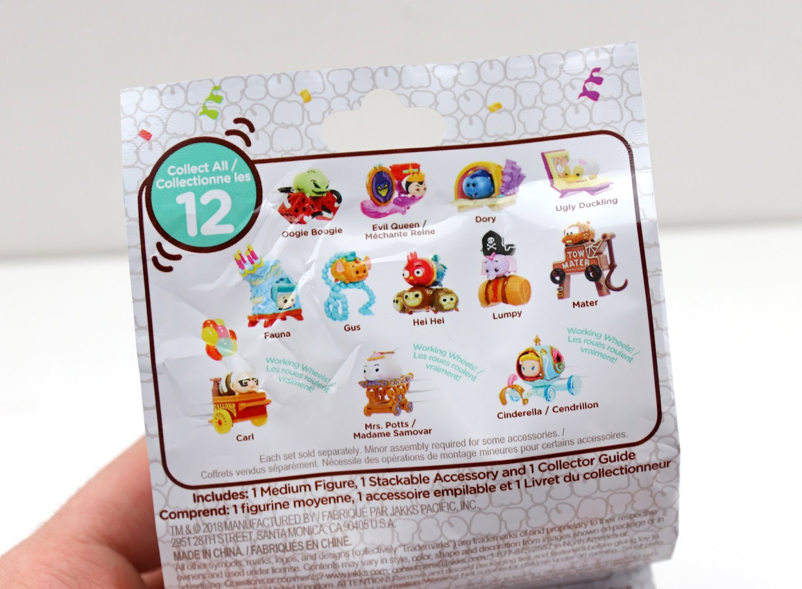 Disney Tsum Tsum Mystery Stack Packs by Jakks Pacific (Series 10)