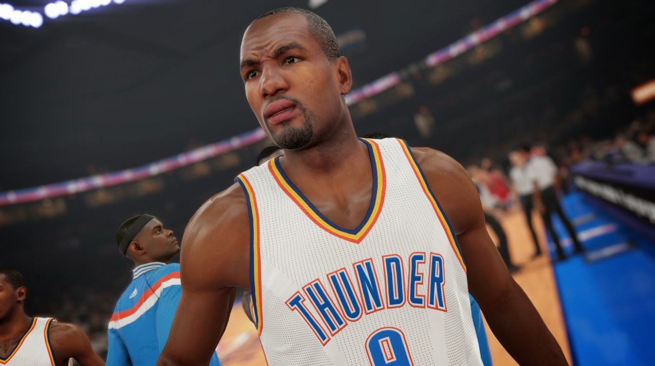 NBA 2K15 Screenshot - Serge Ibaka