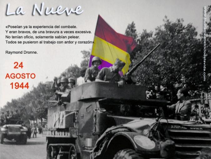 75 años de la llegada de La Nueve, la compañia republicana que ayudó a liberar París La%2Bnueve2