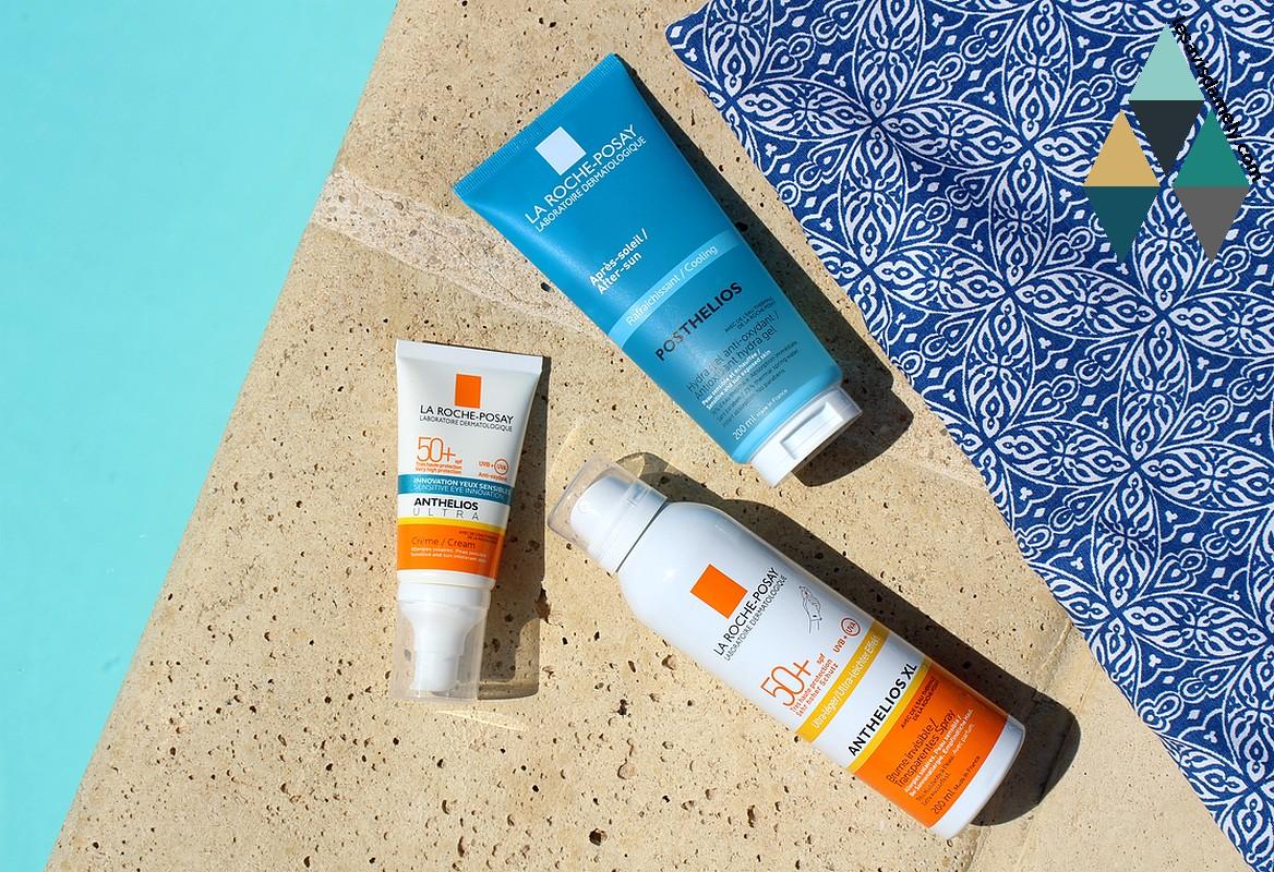 crème solaire hydratante peaux sensibles très haute protection anthelios