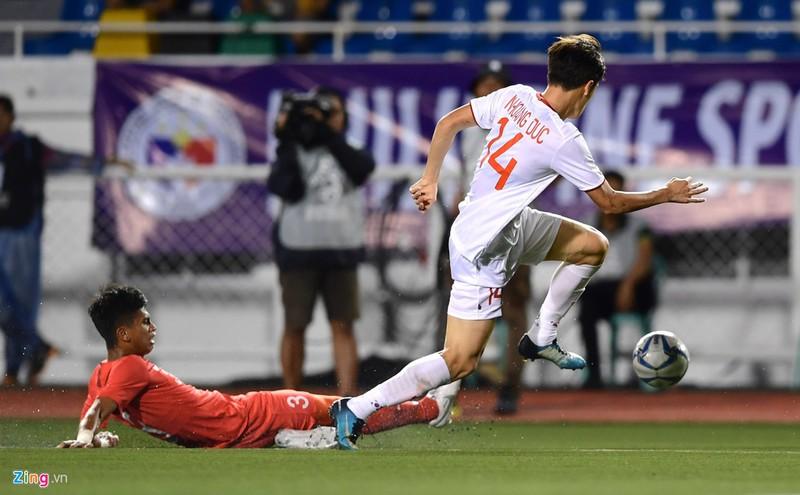 3 cầu thủ quan trọng trên mặt trận tấn công của U22 Việt Nam là Tiến Linh, Hoàng Đức, Hùng Dũng đều dùng giày thi đấu Nike tại giải lần này. Đây cũng là thương hiệu được nhiều tuyển thủ khác của đội U22 như Trọng Hoàng, Quang Hải lựa chọn.
