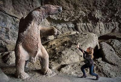 Milodon's Cave, Chile.