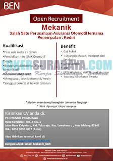 Lowongan Kerja di PT. Otsindo Prima Raya Malang Terbaru Mei 2019