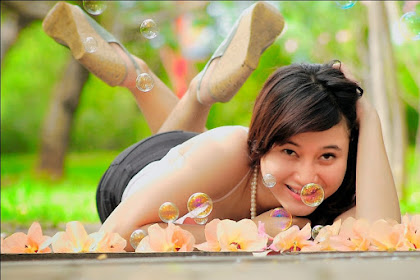 Hunting Foto Model Mahasiswi Cantik dan Seksi Jakarta Viny Vinyl