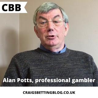 Penjudi Profesional: Alan Potts - Kunci Sukses Berjudi